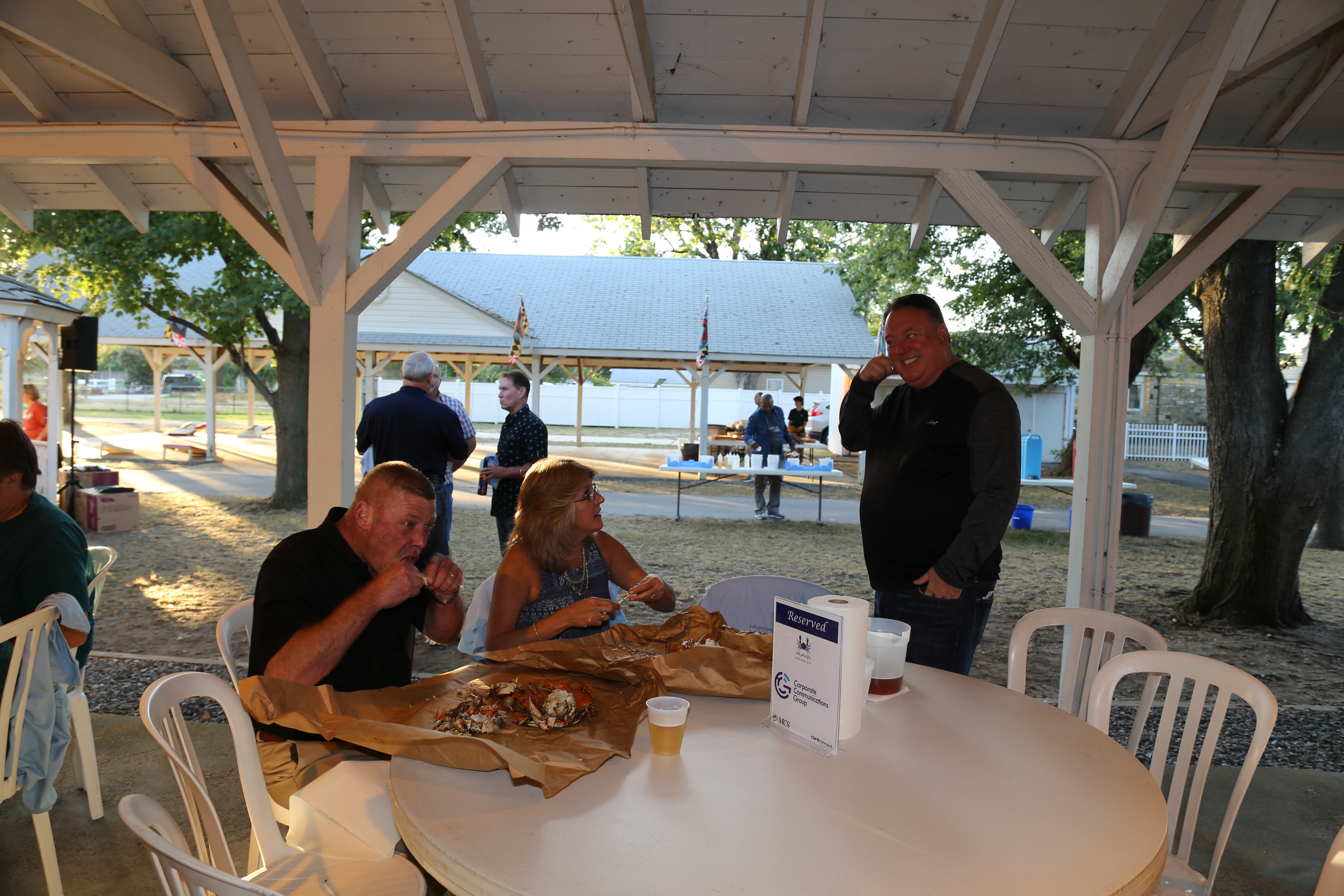 Printing-and-Graphics-Association-crab-feast-2019-kurtz-beach-IMG 1491