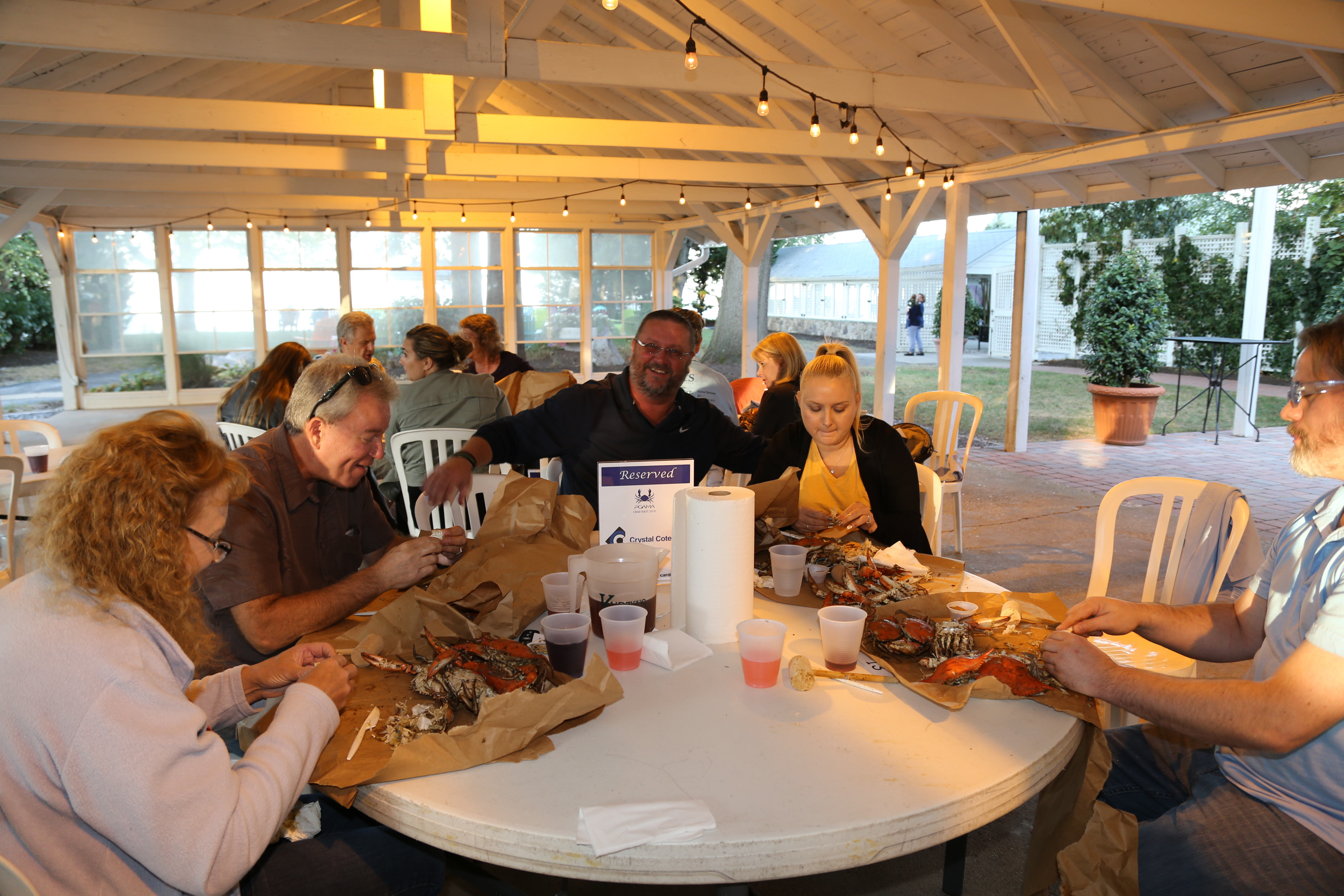 Printing-and-Graphics-Association-crab-feast-2019-kurtz-beach-IMG 1495